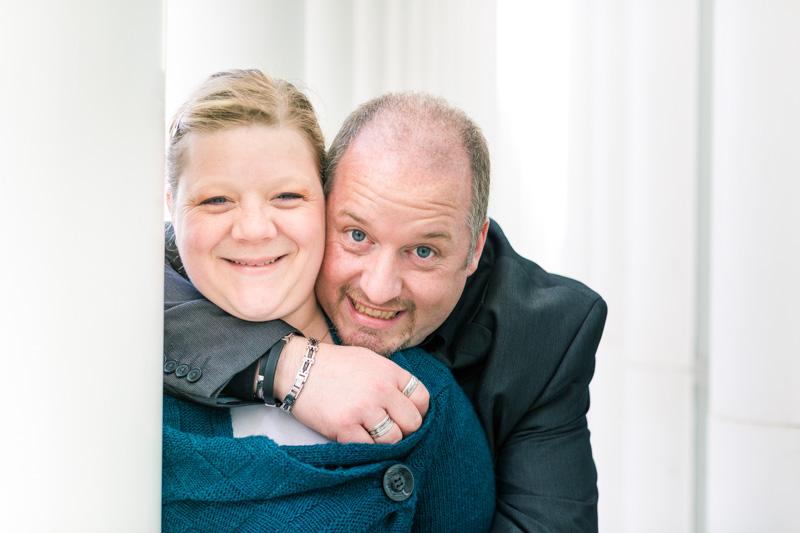 portrait of a Belgium couple