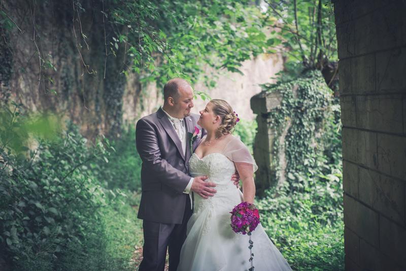 les mariés en belgique avec le photographe