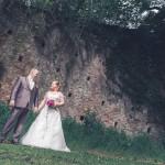 les mariés vu sous un angle original