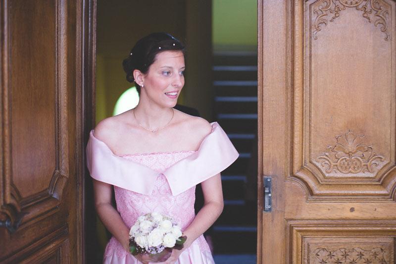 entrée de la mariée à la mairie de bettembourg