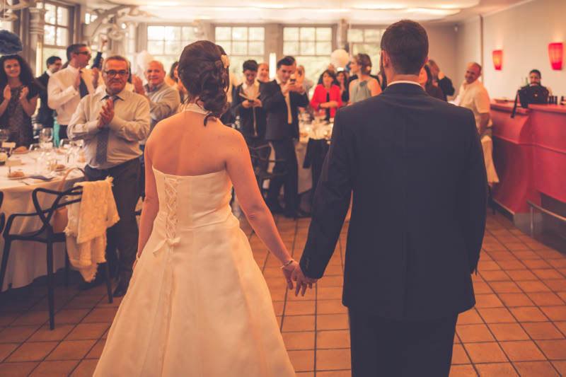 l'entrée des mariée