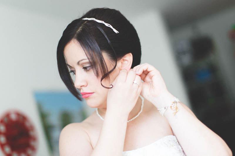 magnifique portrait de la mariée par le photographe du mariage