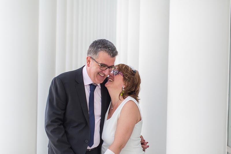 couple amoureux au philharmonie du luxembourg