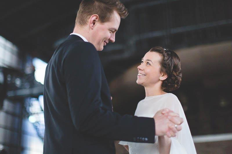 photo de couple dans l-usine de belval