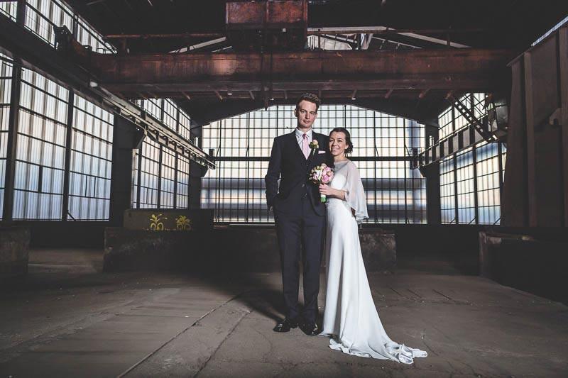 une photo de mariage original a belval au luxembourg