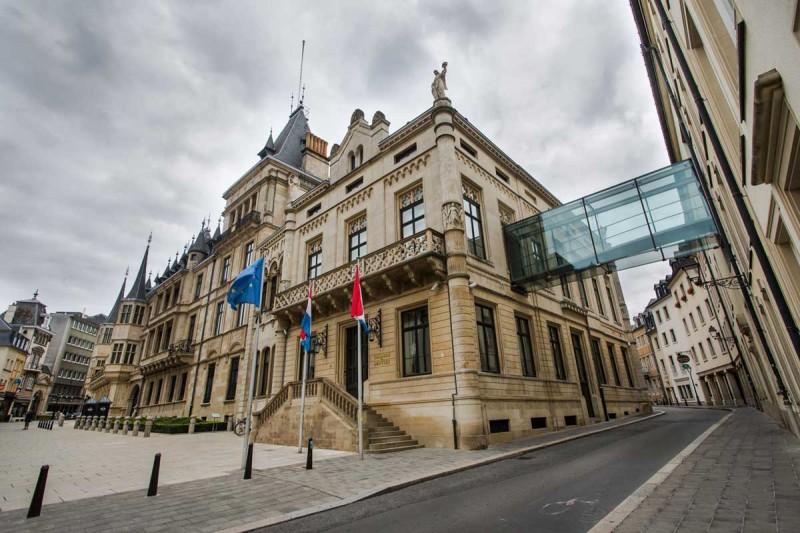 le palais grand ducal au luxembourg