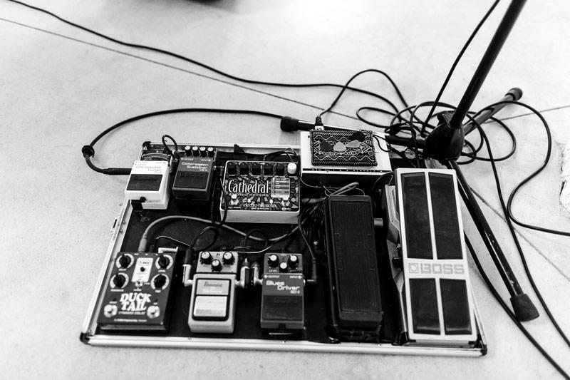 pédales d'effet pour guitare electrique