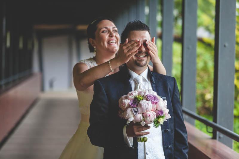 juste avant de découvrir la mariée sur le pont de mondorf