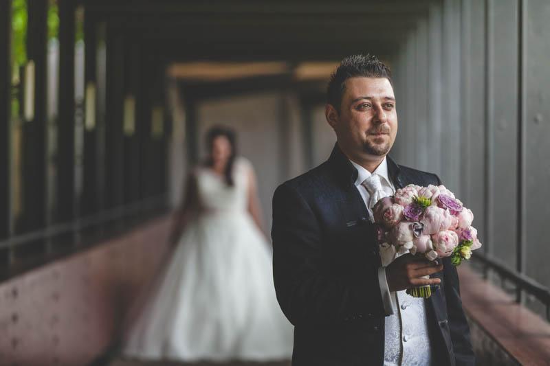 la rencontre des mariés au parc de mondorf-les-bains