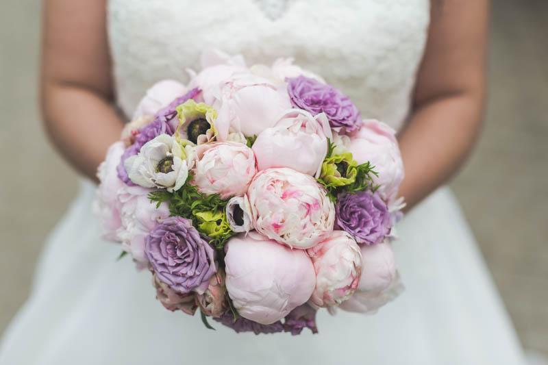 le bouqet de la mariée