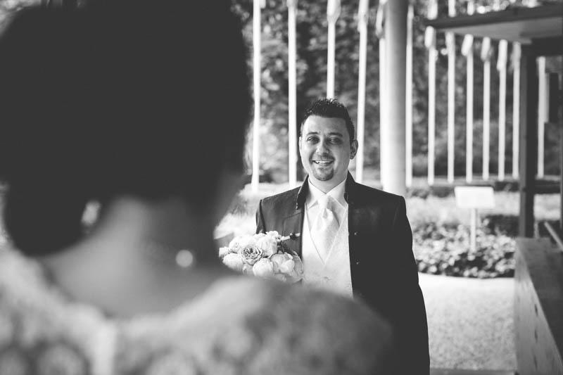 le marié découvre sa future femme à mondorf