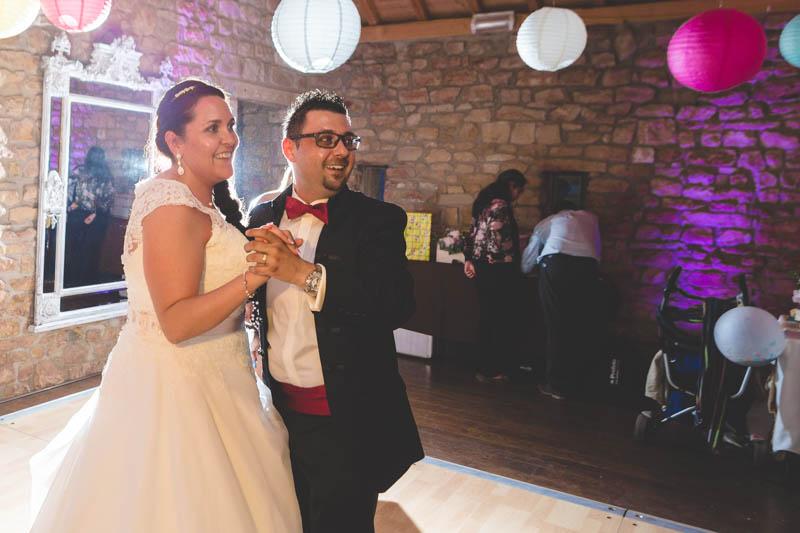 les mariés dansent au moulin d'altwies