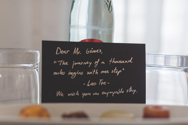 petit mot de l'hote pour le marié