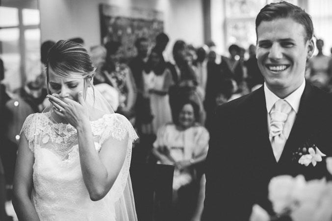 la mariée pleure à la mairie de serémange en moselle