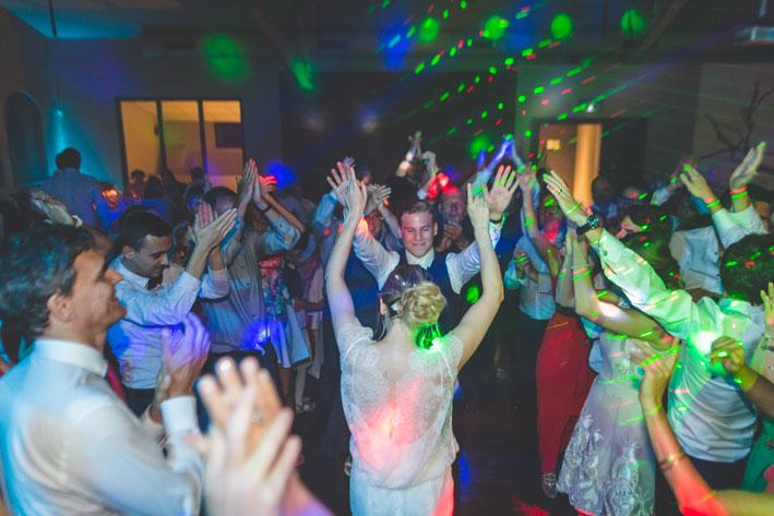 soirée dansante du mariage près de Metz