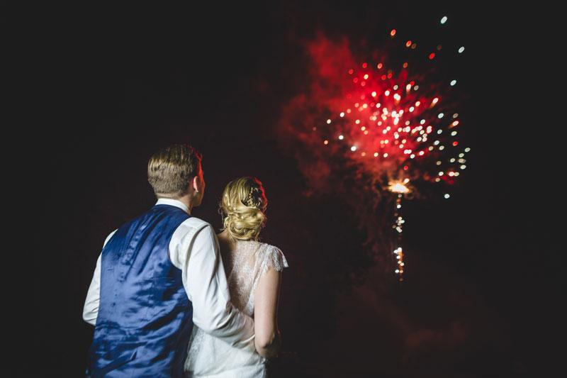 feux dartifice lors dun mariage en lorraine