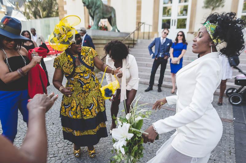 danse de la mariée africaine