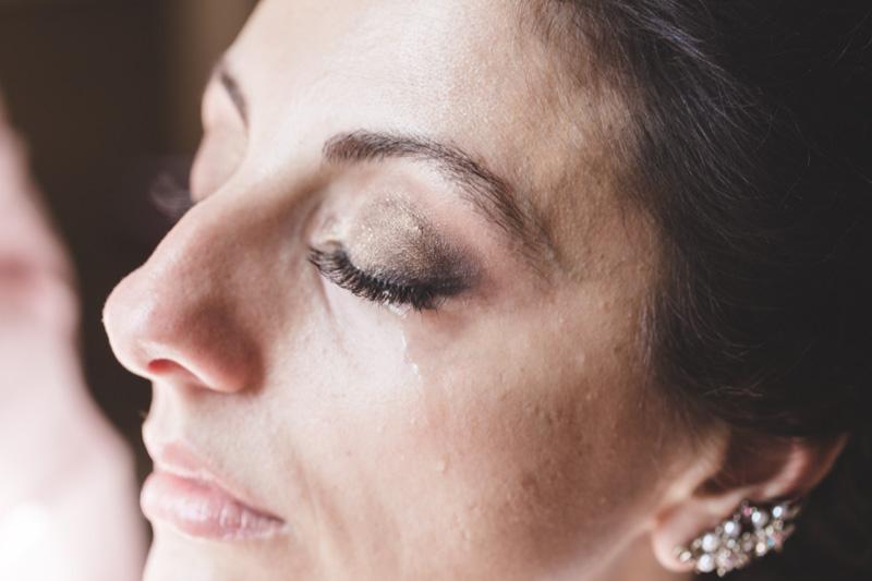larme de la mariée