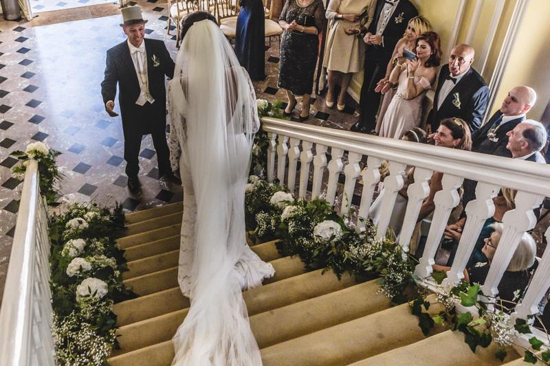 le marié découvre sa future femme