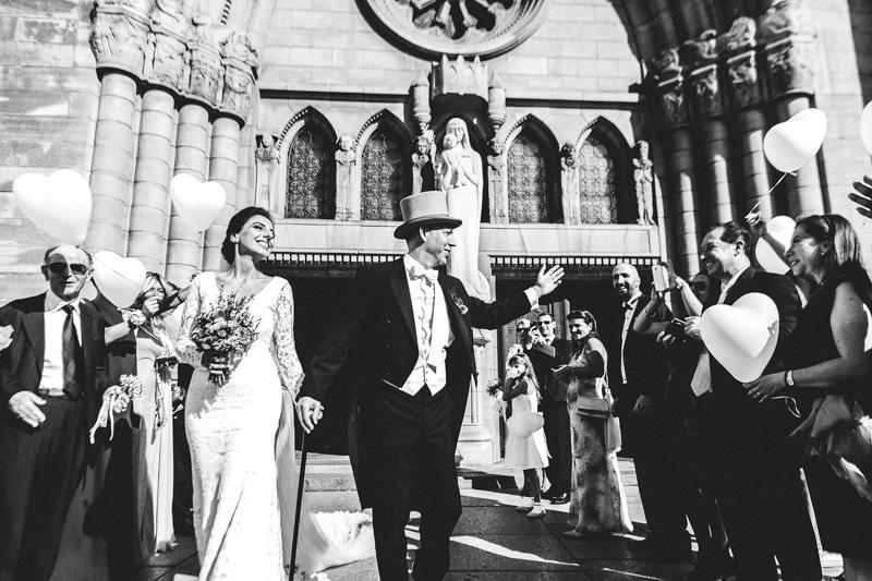 sortie des mariés à luxembourg ville