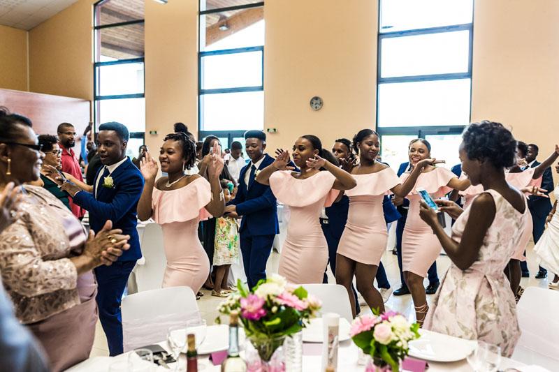 dances cap verdienne lors d'un mariage