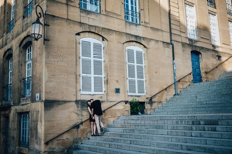 ambiance film noir à Metz