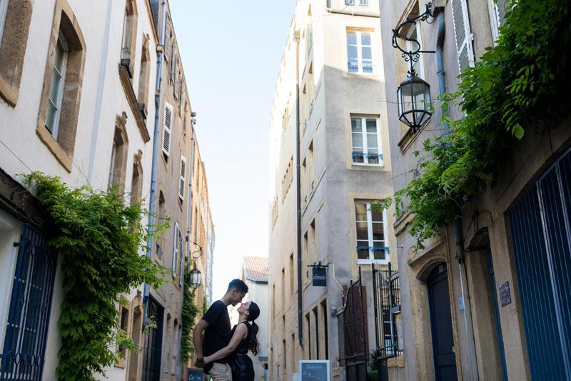 les ruelles de Metz sont magnifiques