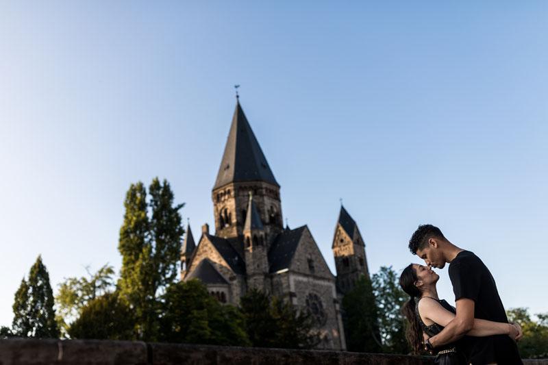 église protestante à Metz
