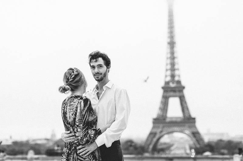 ambiance film noir à Paris