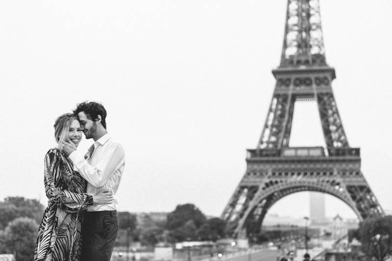 jeune couple parisien