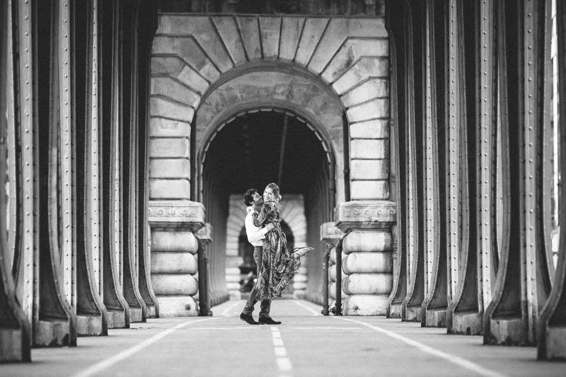 fiançailles au pont de Bir Hakeim