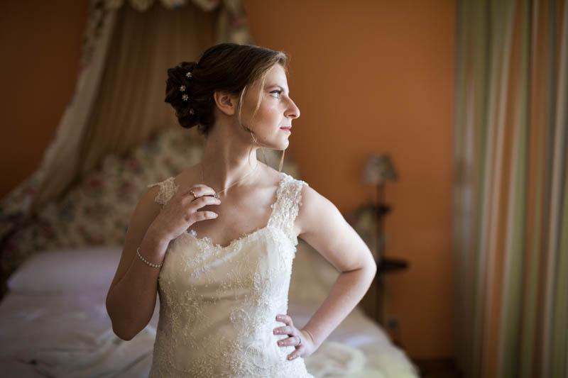 portrait d'une mariée juive