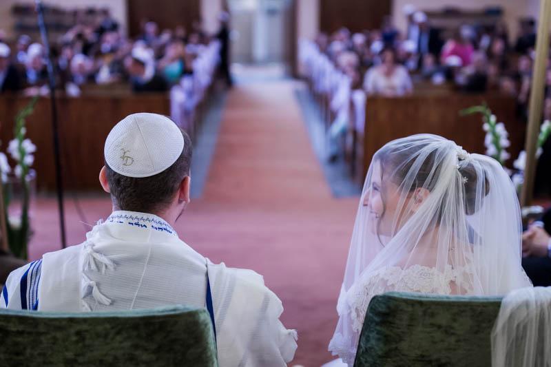 les mariés à la synagogue de luxembourg