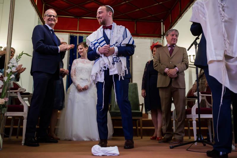 félicitations du rabin