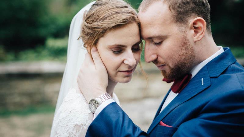 photo de mariés juifs dans le grund