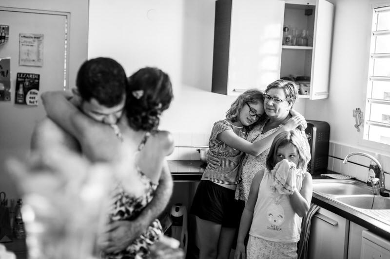 scène de vie pendant un mariage
