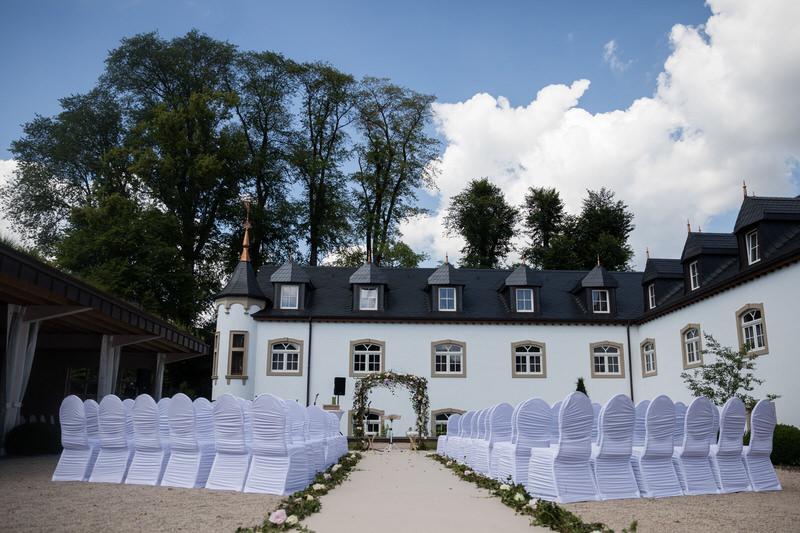 cérémonie de mariage laique au chateau d'urspelt