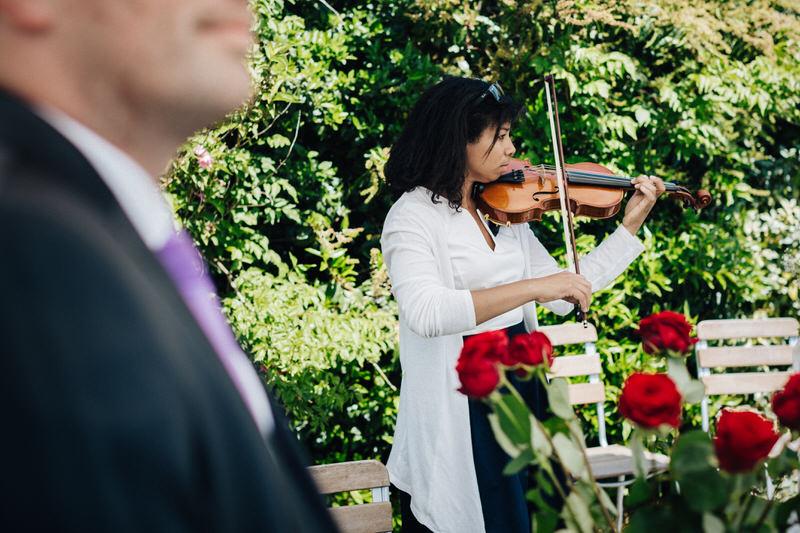 violoniste pour cérémonie laique lors d'un mariage