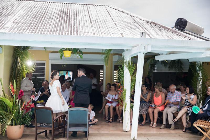 discours des mariés en guadeloupe