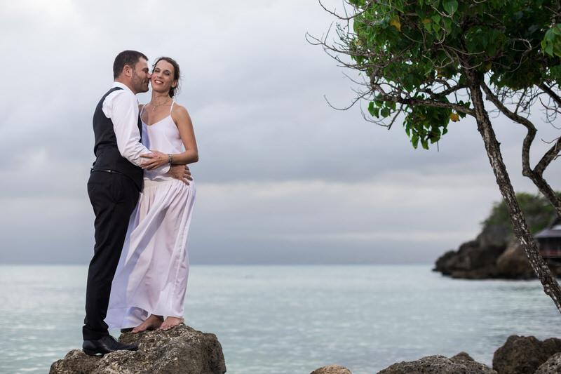 séance portrait mariage en guadeloupe