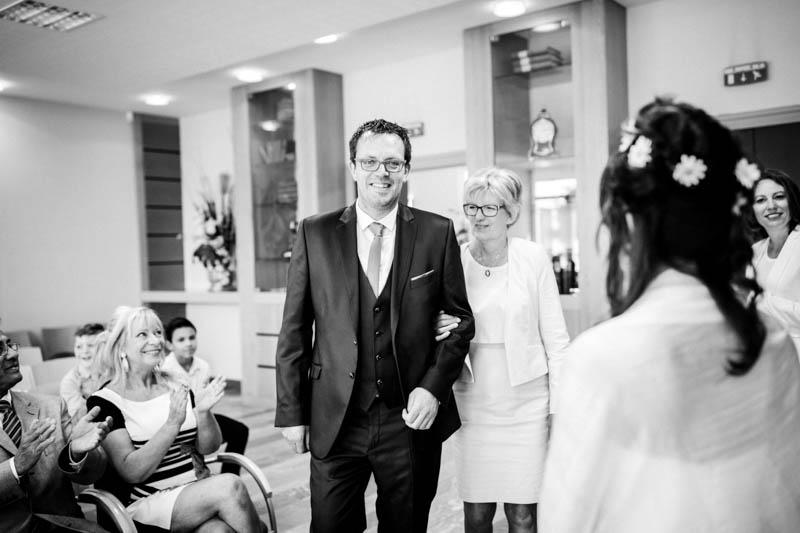 Nantes civil wedding ceremony