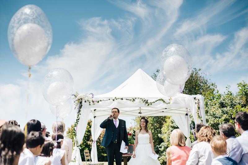 symbolic wedding ceremony in Nantes