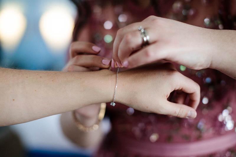 le petit bracelet pour mariée