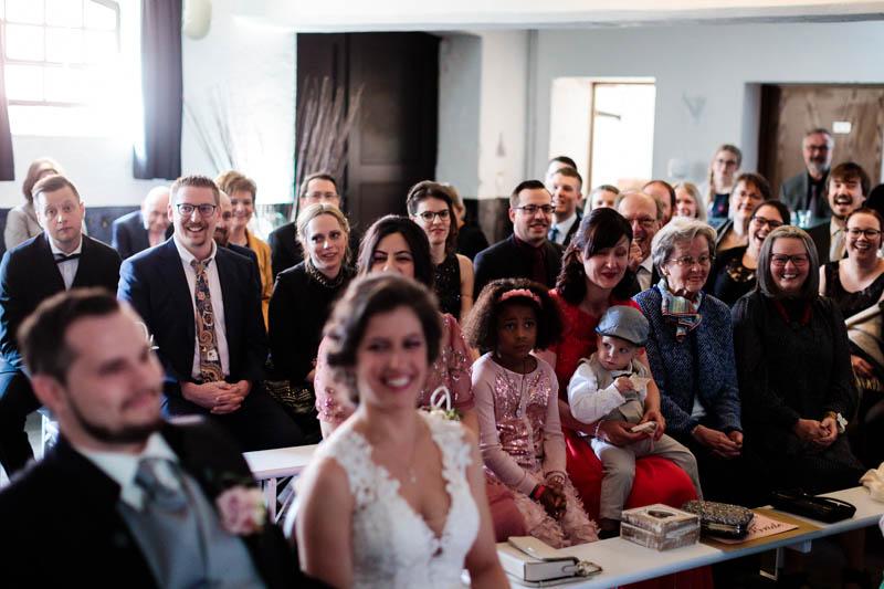 cérémonie de mariage Bertrange