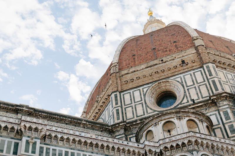 les oiseaux et la basilique santa croce