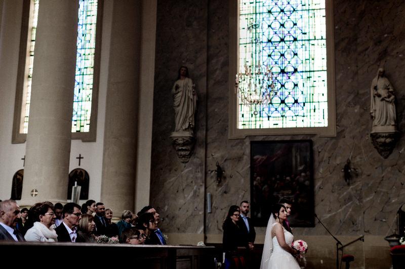 mariage religieux à l'église de thionville