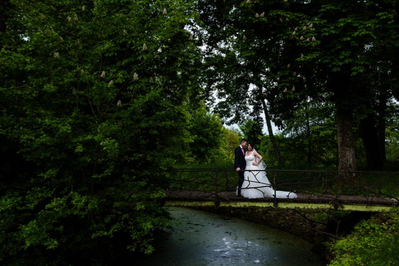 photo de mariage au chateau de preisch