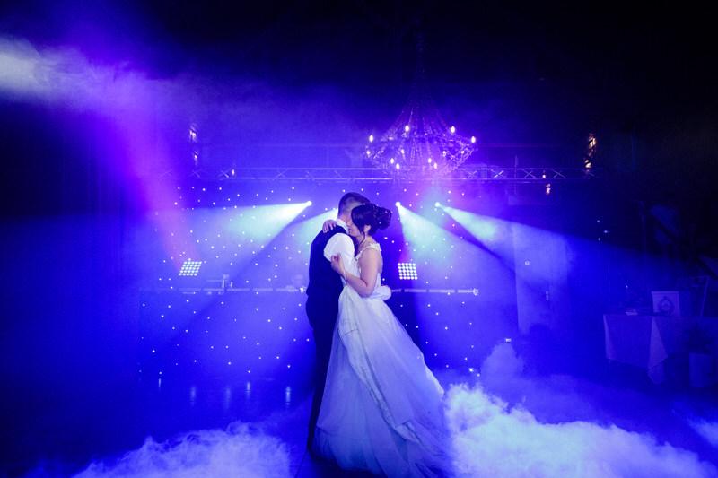 première danse des mariés au chateau de preisch