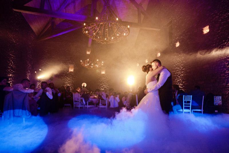 danse des mariés avec les superbes éclairages de mcanim
