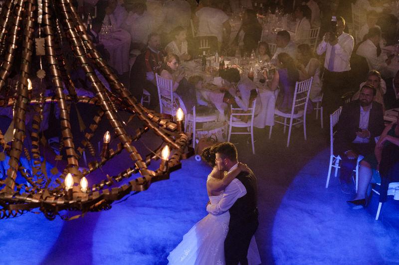 magnifique première danse des mariés